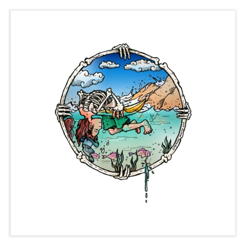 Vida no Mar Home Fine Art Print by Emerson Rauth