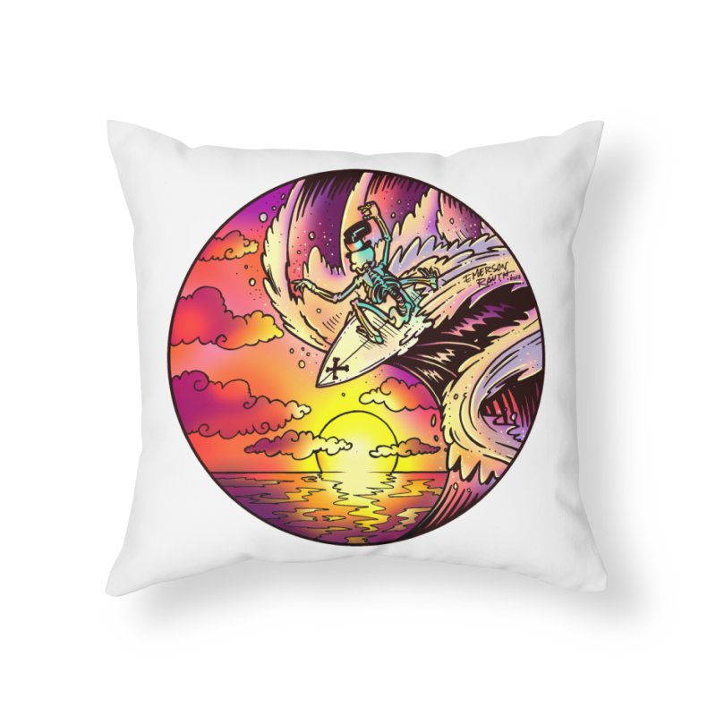 balance - 2017 N6 Home Throw Pillow by Emerson Rauth