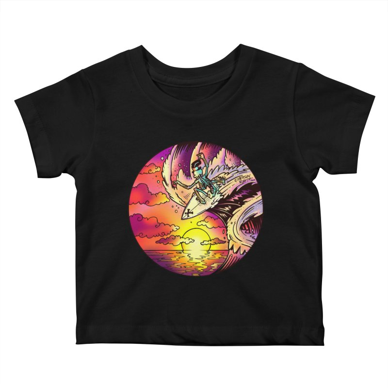 balance - 2017 N6 Kids Baby T-Shirt by Emerson Rauth