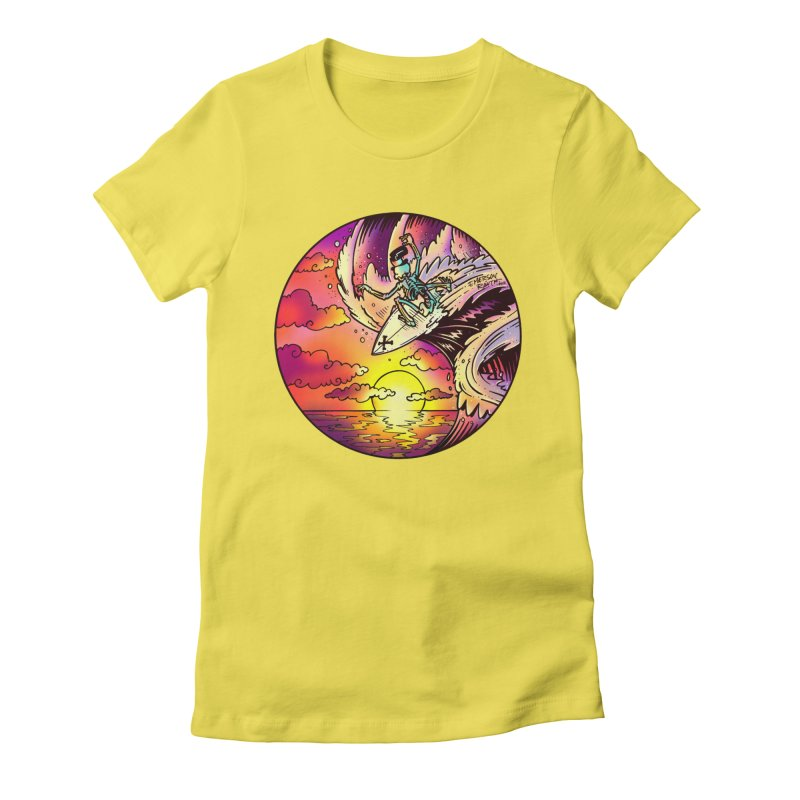 balance - 2017 N6 Women's Fitted T-Shirt by Emerson Rauth
