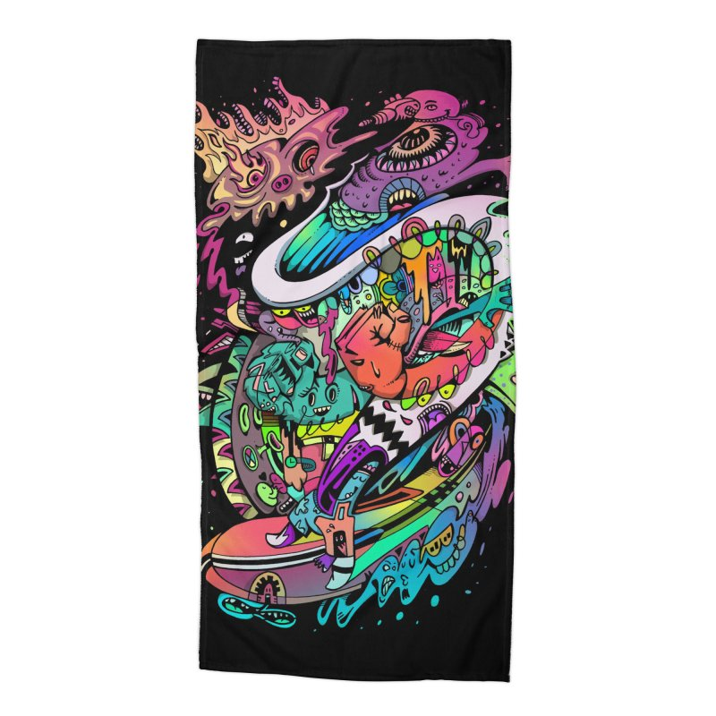 Doodles - 2007 N 10 Accessories Beach Towel by Emerson Rauth