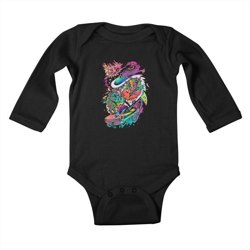 Doodles - 2007 N 10 Kids Baby Longsleeve Bodysuit by Emerson Rauth