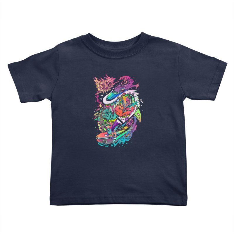 Doodles - 2007 N 10 Kids Toddler T-Shirt by Emerson Rauth
