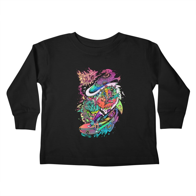 Doodles - 2007 N 10 Kids Toddler Longsleeve T-Shirt by Emerson Rauth