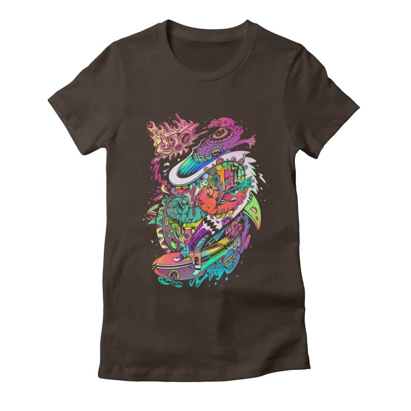 Doodles - 2007 N 10 Women's Fitted T-Shirt by Emerson Rauth
