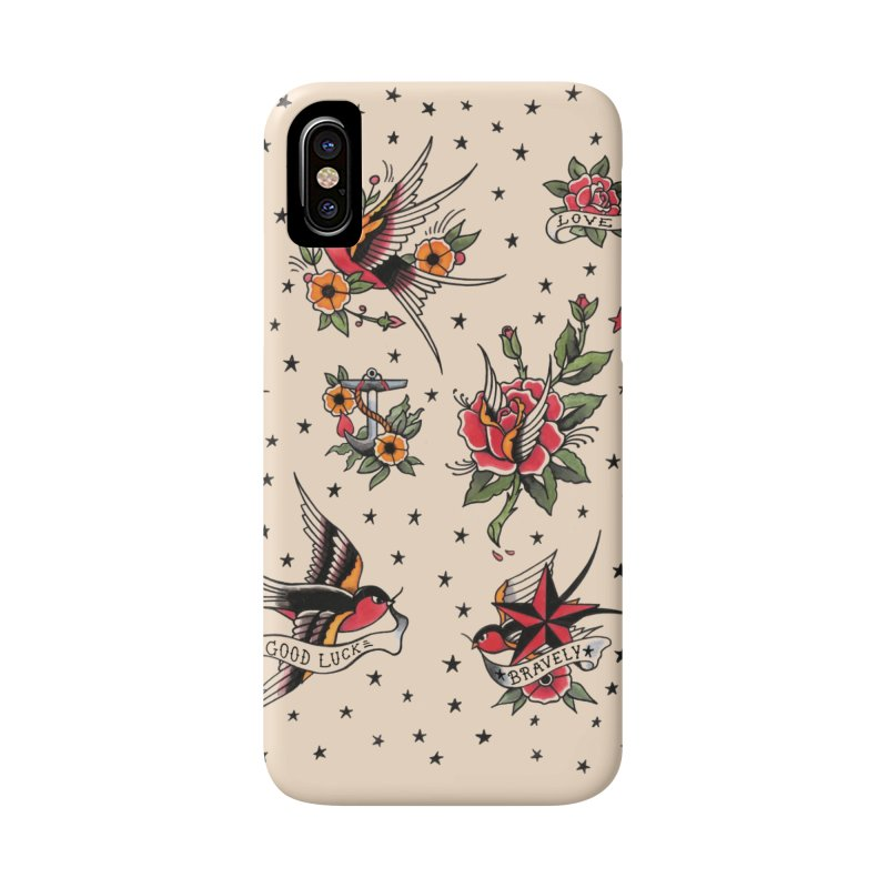Old School Tattoo Style Accessories Phone Case by Emerson Rauth
