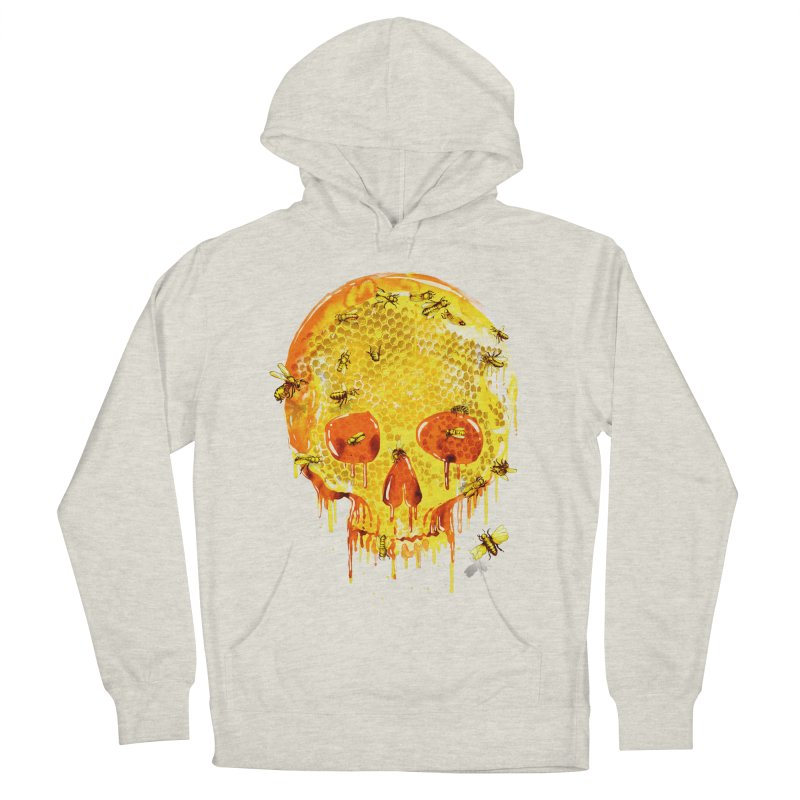 HONEY SKULL Women's Pullover Hoody by Emerson Rauth