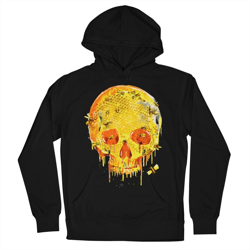 HONEY SKULL Men's Pullover Hoody by Emerson Rauth