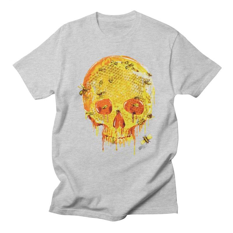 HONEY SKULL Men's T-Shirt by Emerson Rauth