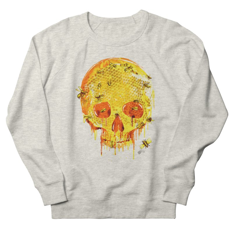 HONEY SKULL Men's Sweatshirt by Emerson Rauth