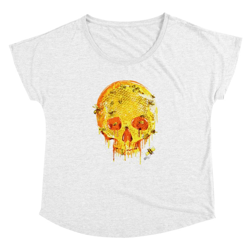 HONEY SKULL Women's Dolman by Emerson Rauth