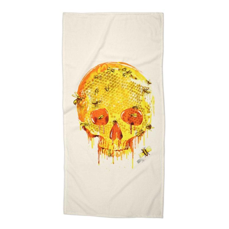 HONEY SKULL Accessories Beach Towel by Emerson Rauth