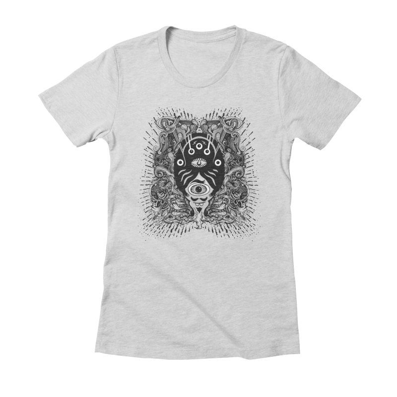 Ink Women's Fitted T-Shirt by Emerson Rauth