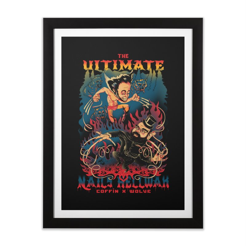 THE ULTIMATE NAILS HELLWAR Home Framed Fine Art Print by Emerson Rauth
