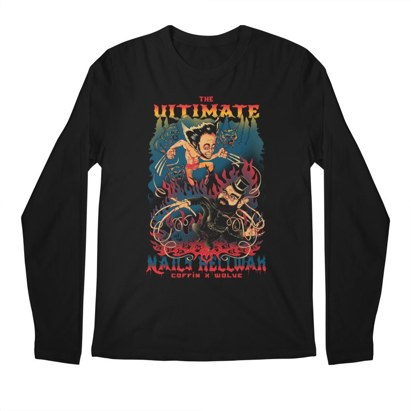 THE ULTIMATE NAILS HELLWAR Men's Longsleeve T-Shirt by Emerson Rauth