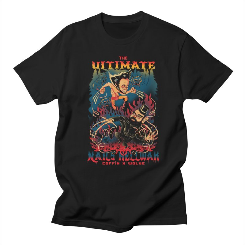THE ULTIMATE NAILS HELLWAR Men's T-shirt by Emerson Rauth