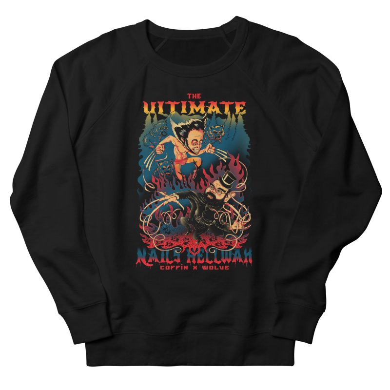 THE ULTIMATE NAILS HELLWAR Men's Sweatshirt by Emerson Rauth