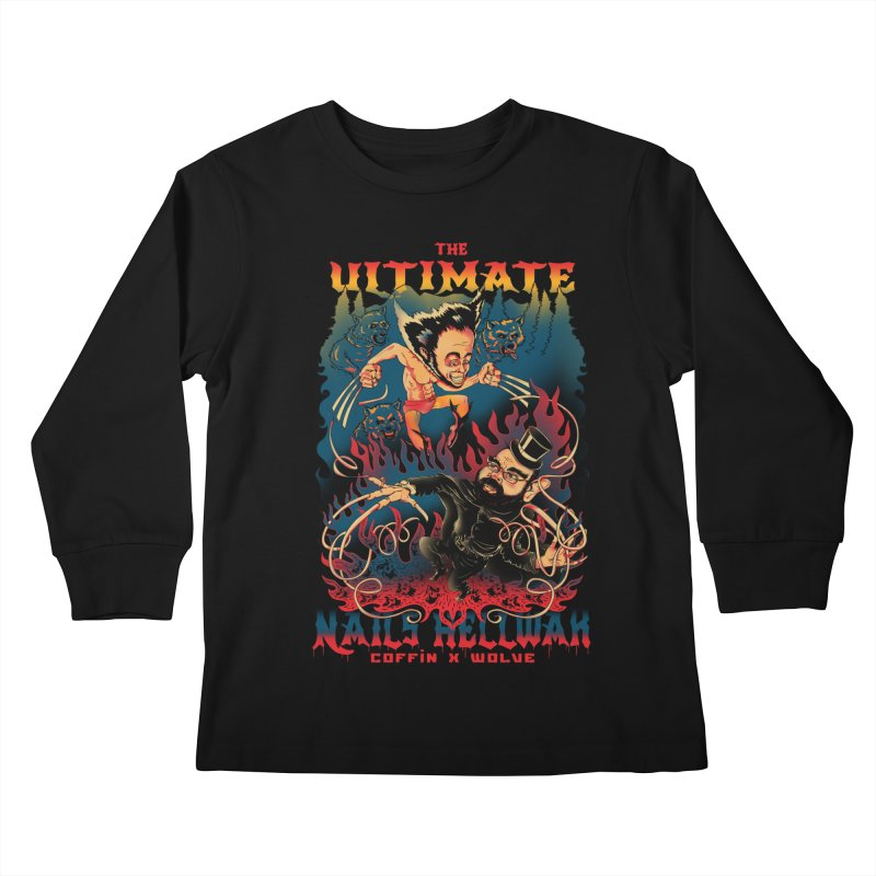 THE ULTIMATE NAILS HELLWAR Kids Longsleeve T-Shirt by Emerson Rauth
