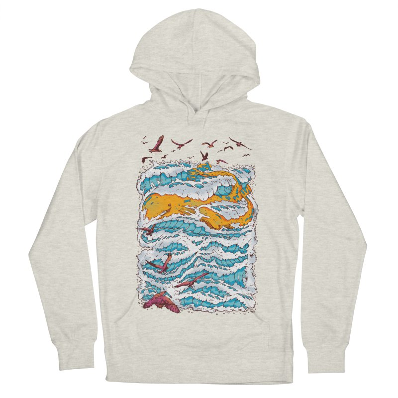 The Golden Whale Men's Pullover Hoody by Emerson Rauth