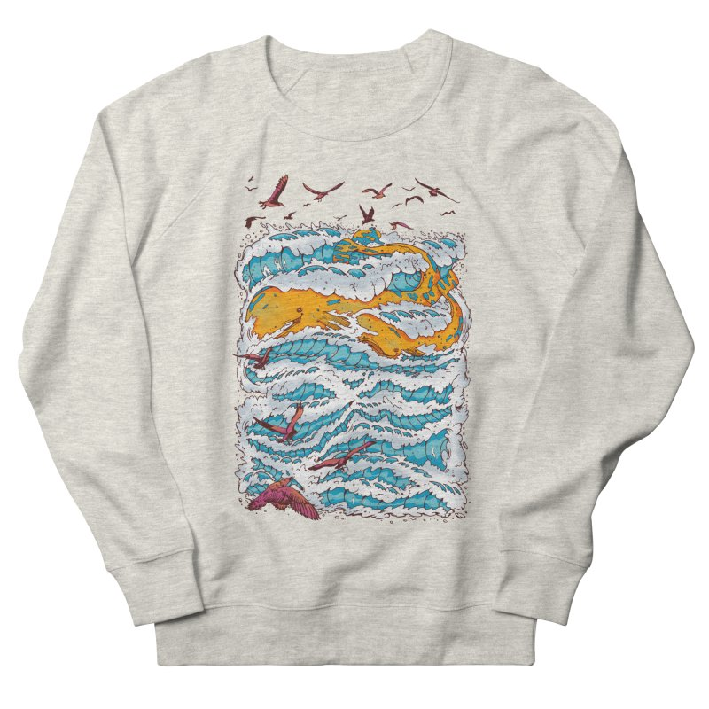 The Golden Whale Men's Sweatshirt by Emerson Rauth
