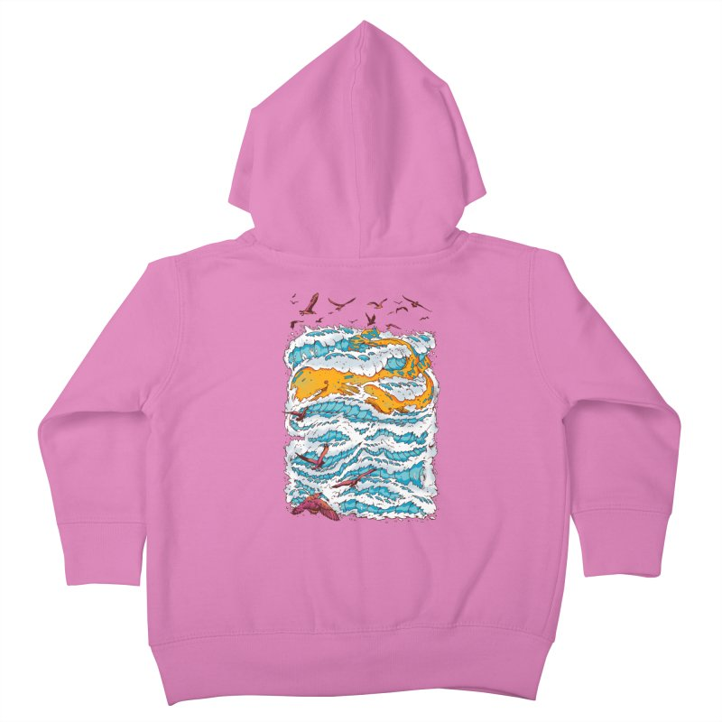 The Golden Whale Kids Toddler Zip-Up Hoody by Emerson Rauth