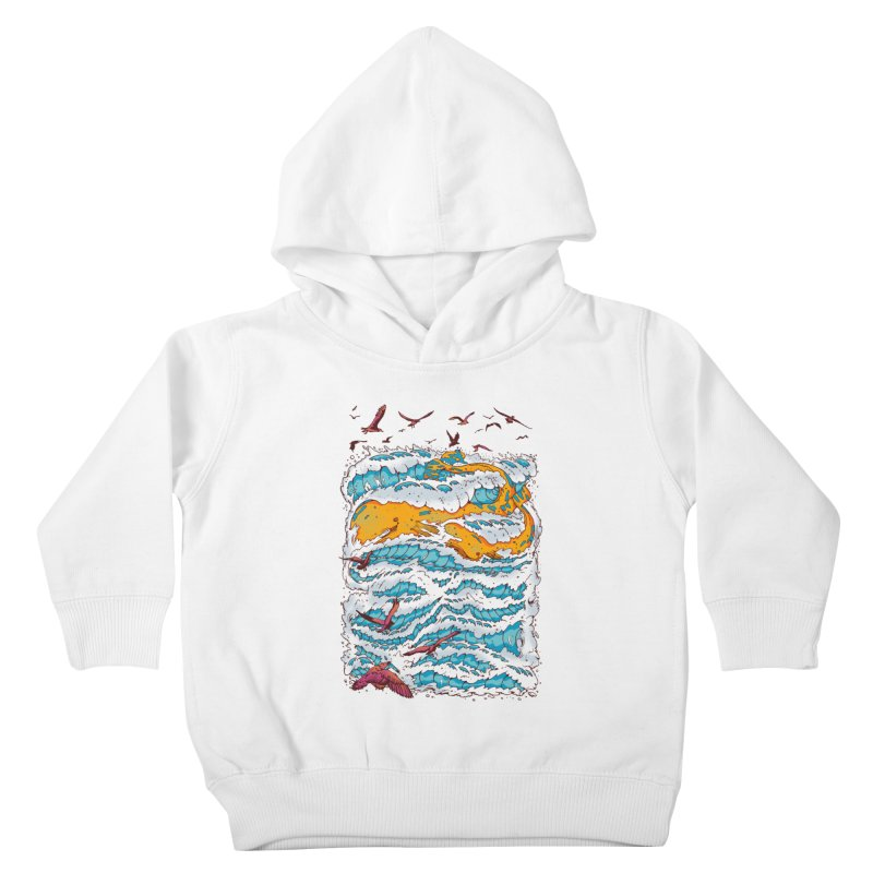 The Golden Whale Kids Toddler Pullover Hoody by Emerson Rauth