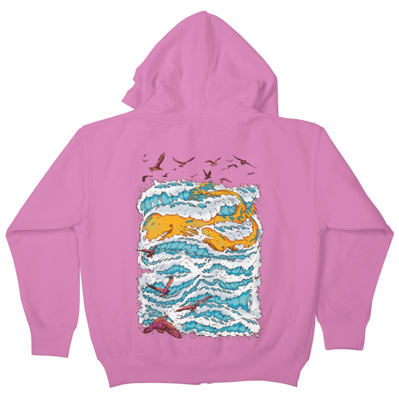 The Golden Whale Kids Zip-Up Hoody by Emerson Rauth