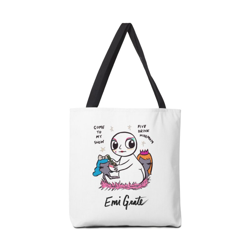 """""""Naked Baby"""" tote by Agent Wednesday Accessories Bag by emigrate's Artist Shop"""