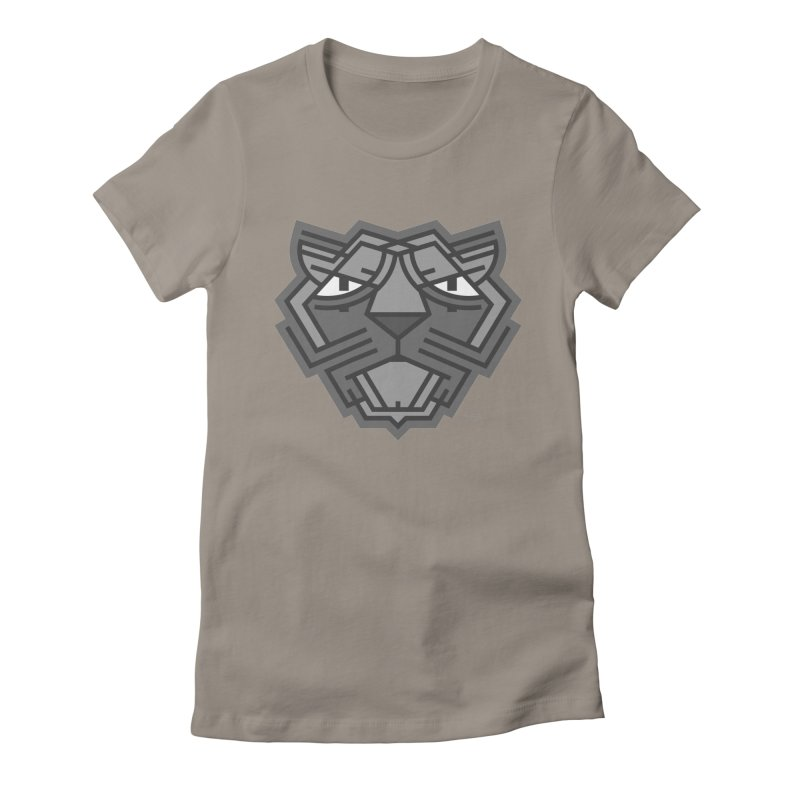Phantera Women's Fitted T-Shirt by emiliographics's Artist Shop