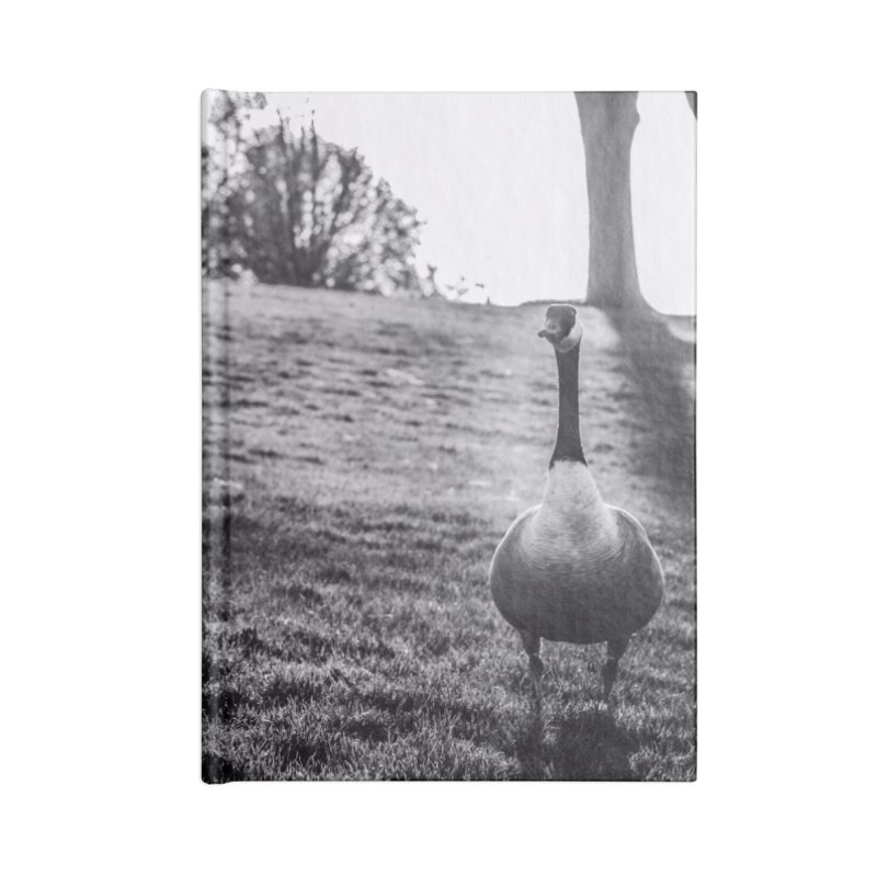 City of Geese in Blank Journal Notebook by emilyhanigan's Artist Shop