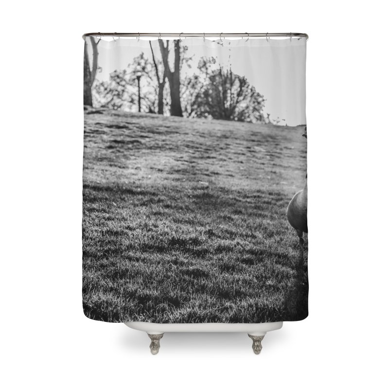 City of Geese Home Shower Curtain by emilyhanigan's Artist Shop