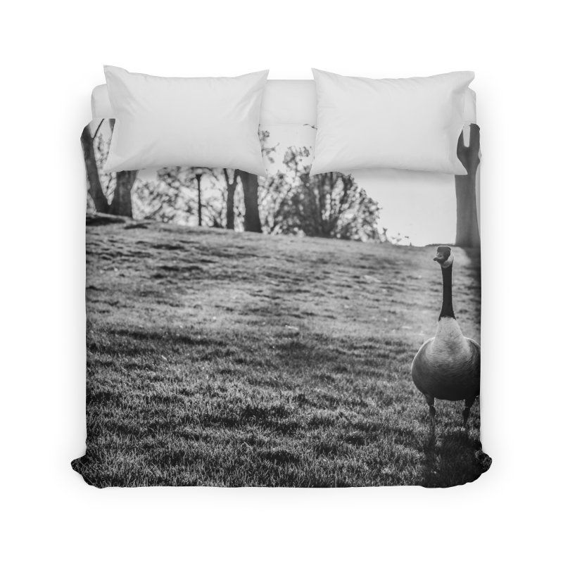 City of Geese Home Duvet by emilyhanigan's Artist Shop