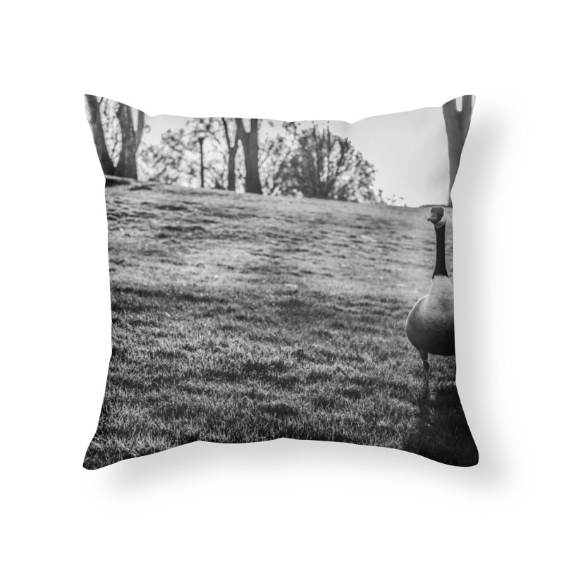 City of Geese Home Throw Pillow by emilyhanigan's Artist Shop