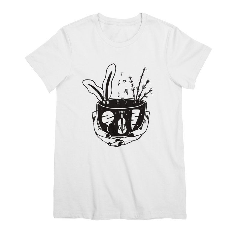 whole food Women's Premium T-Shirt by emily prentice
