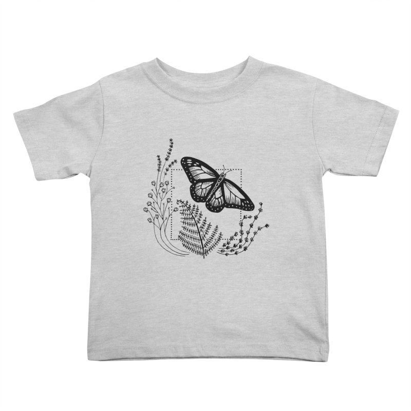 field and flutter Kids Toddler T-Shirt by emily prentice