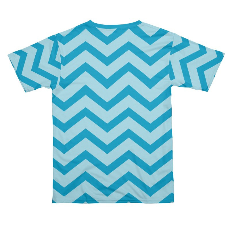 Chevron Shark Men's Cut & Sew by Emily's Ragz