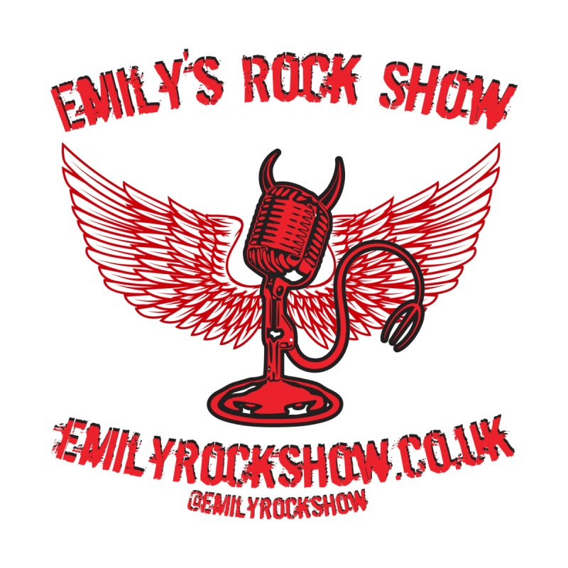 Emily's Rock Show - Red and Black Men's T-Shirt by Emily's Rock Show