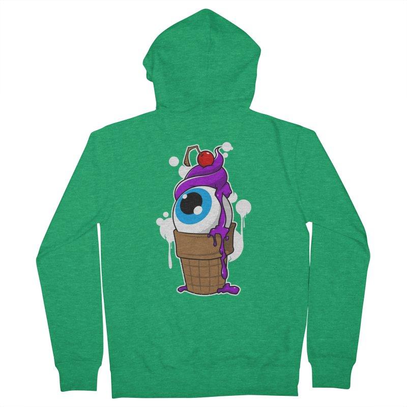 Eyescream Men's Zip-Up Hoody by emodistcreates's Artist Shop