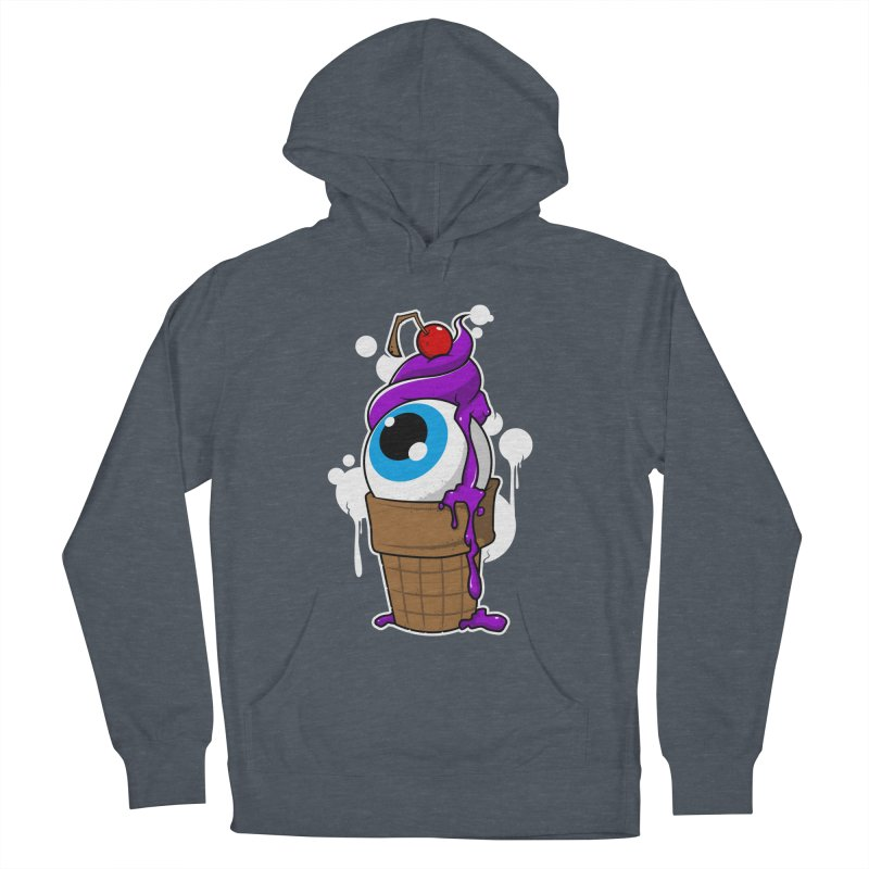 Eyescream Men's French Terry Pullover Hoody by emodistcreates's Artist Shop