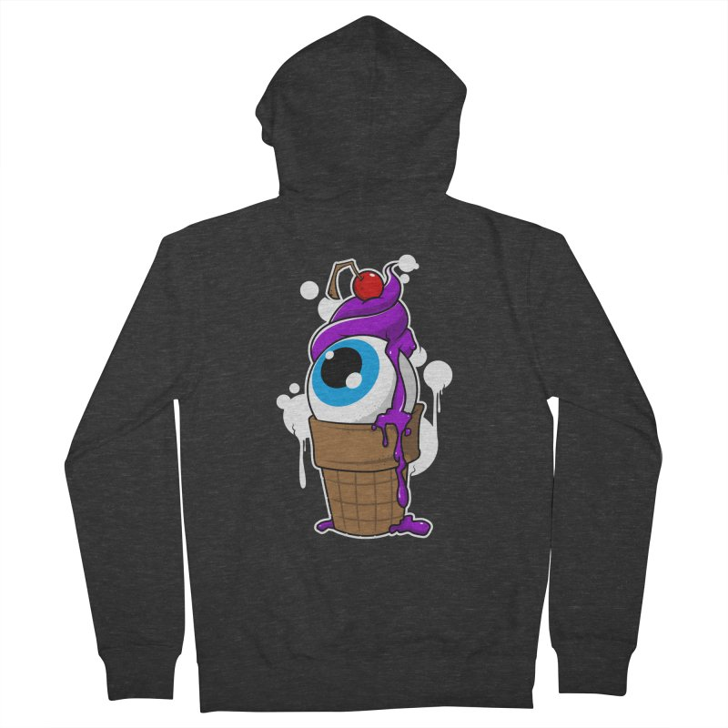 Eyescream Men's French Terry Zip-Up Hoody by emodistcreates's Artist Shop