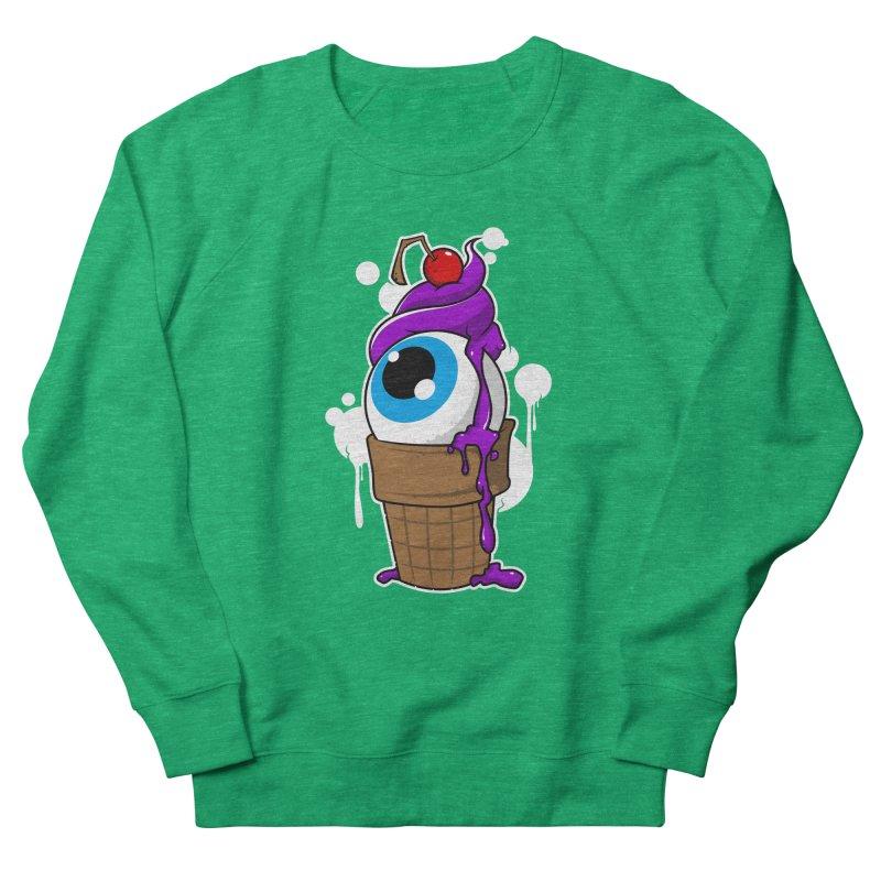 Eyescream Men's French Terry Sweatshirt by emodistcreates's Artist Shop