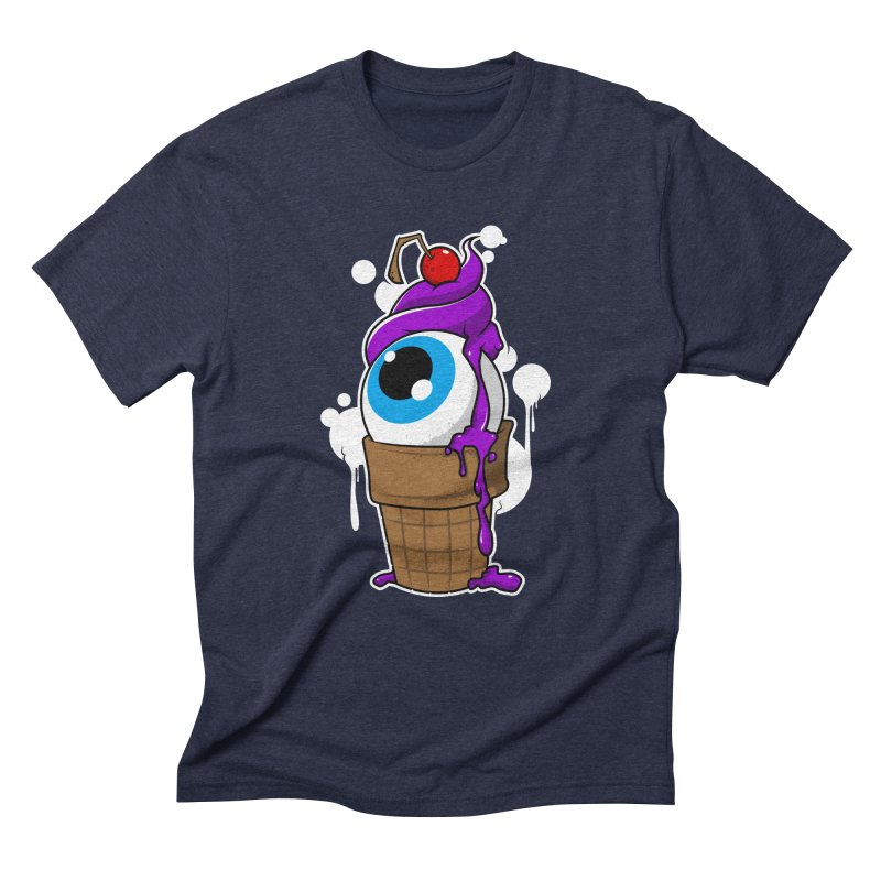 Eyescream Men's Triblend T-Shirt by emodistcreates's Artist Shop