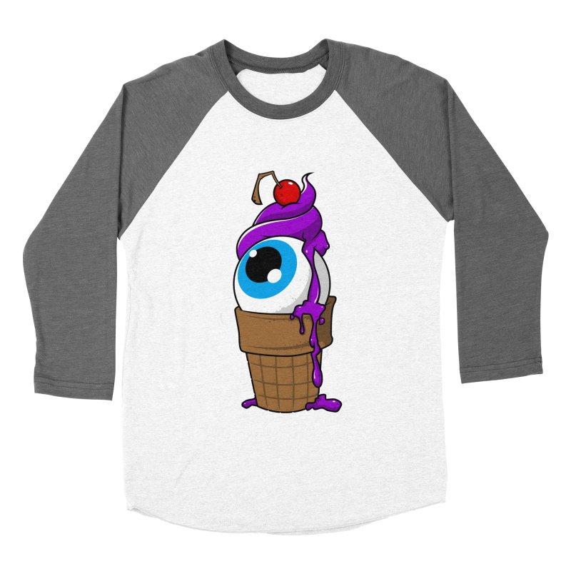 Eyescream Women's Baseball Triblend T-Shirt by emodistcreates's Artist Shop