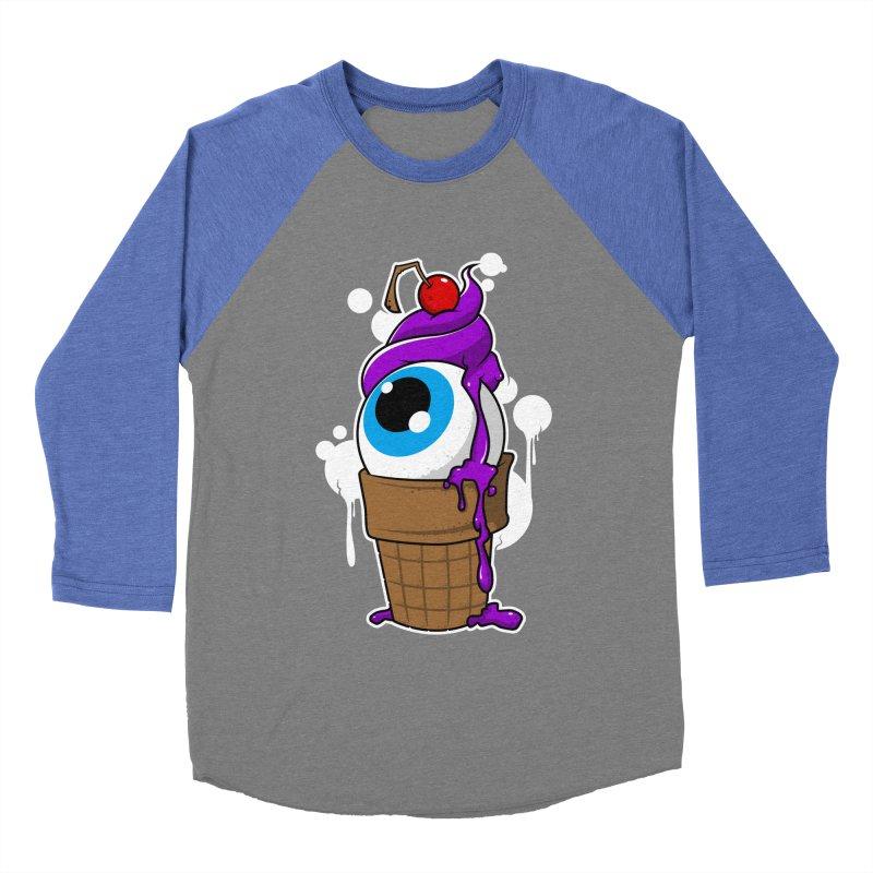 Eyescream Women's Baseball Triblend Longsleeve T-Shirt by emodistcreates's Artist Shop