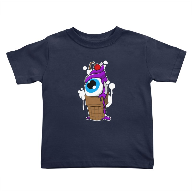 Eyescream Kids Toddler T-Shirt by emodistcreates's Artist Shop