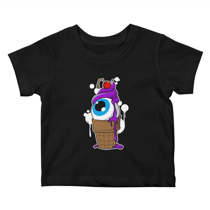 Eyescream Kids Baby T-Shirt by emodistcreates's Artist Shop