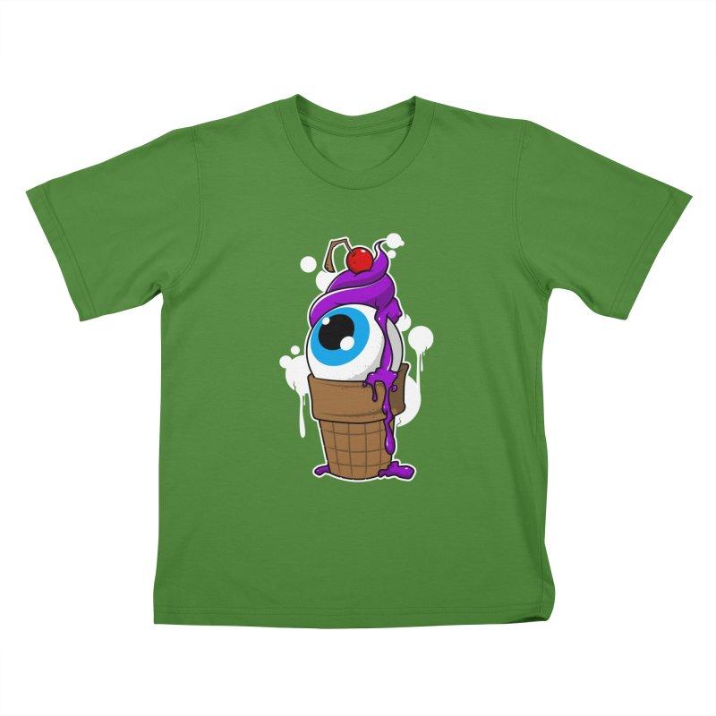 Eyescream Kids T-Shirt by emodistcreates's Artist Shop