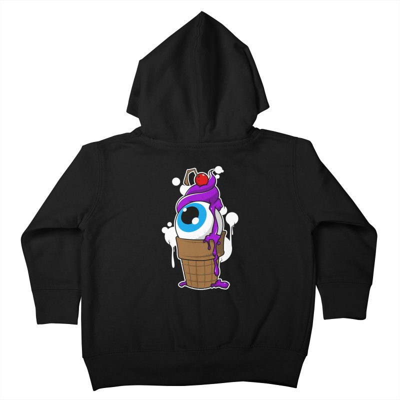 Eyescream Kids Toddler Zip-Up Hoody by emodistcreates's Artist Shop