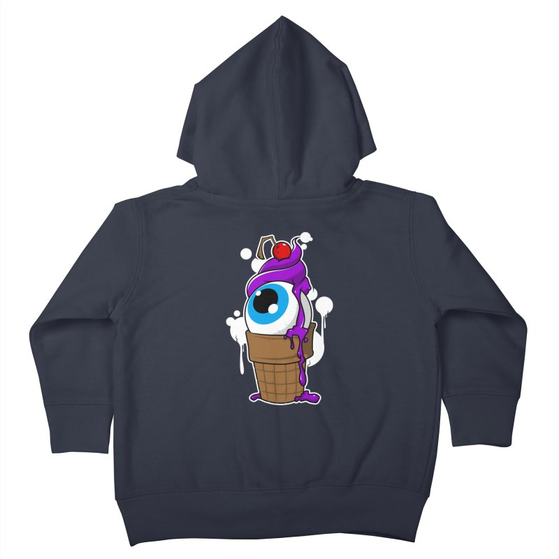 Eyescream Kids Toddler Zip-Up Hoody by emodistcreates's Artist Shop