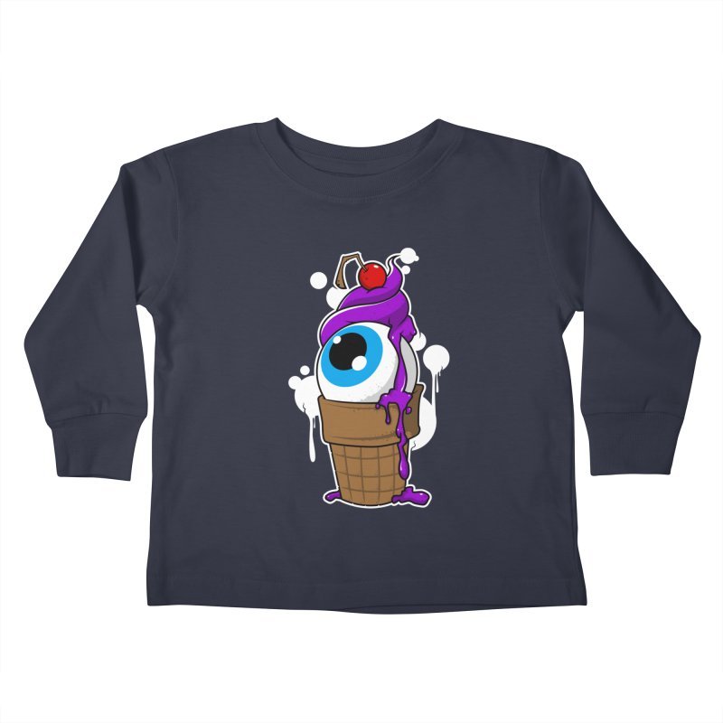 Eyescream Kids Toddler Longsleeve T-Shirt by emodistcreates's Artist Shop